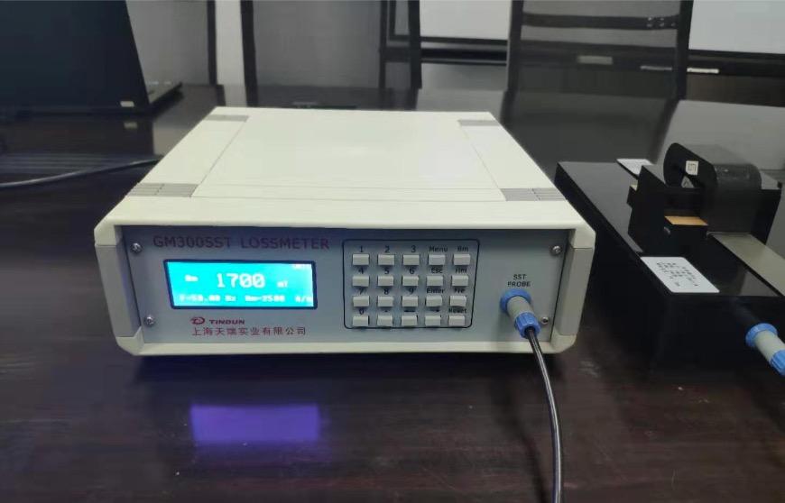 硅钢片铁损测试仪、磁感测量仪使用介绍