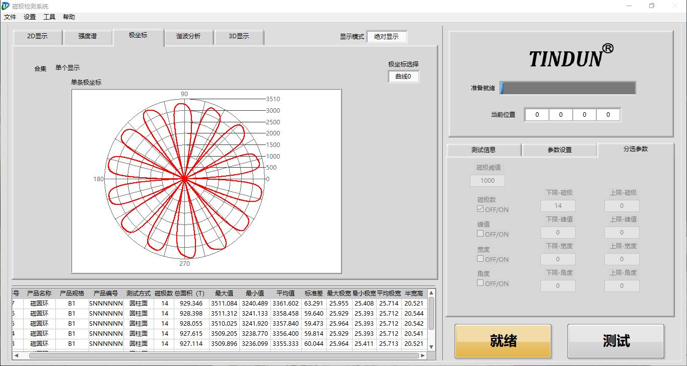 完美测试永磁电机转子磁钢分段斜极角(图3)