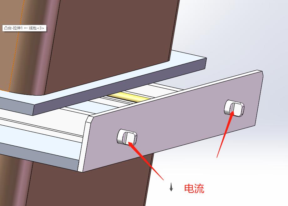 通电导线在磁场中运动大型实验电磁铁设备(图3)
